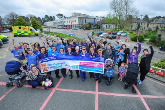 The Cornwall Birth and Baby Appeal launches