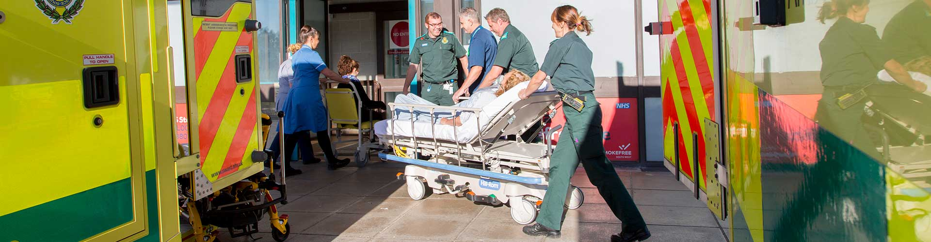 Emergency Department and Minor Injury waiting times