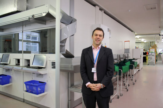 Barcode technology introduced as part of NHS safety initiative in Cornwall