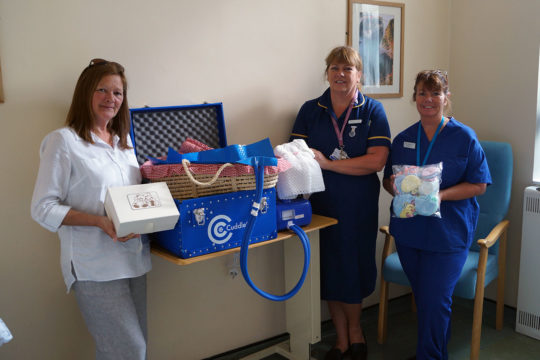 Funds raised for Cuddle Cot to allow precious goodbyes
