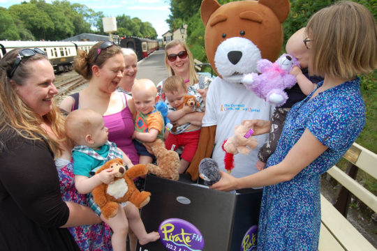 Bodmin family attraction gets on board with Pirate FM campaign to support the BABA appeal