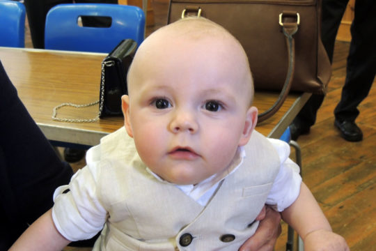 Donations in lieu of Christening Gifts raise over £600