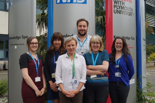 Royal Cornwall Hospitals Trust named lead recruiting site for stroke research across England for second year