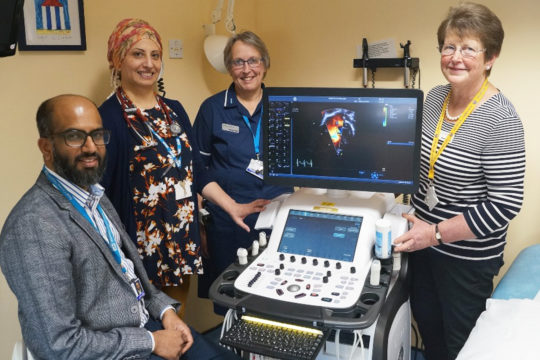 Friends of the Hospital – Heart scanner donation
