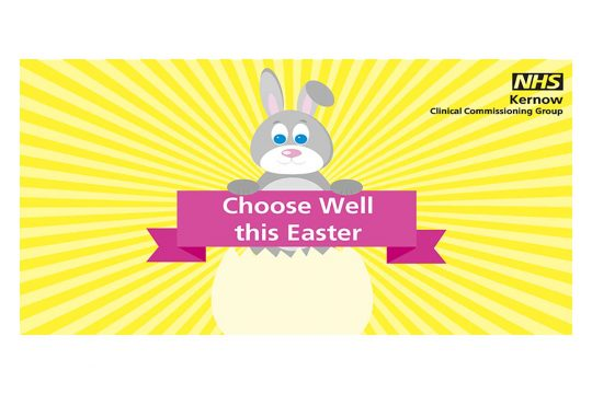 Help us crack this Easter by using the right NHS service