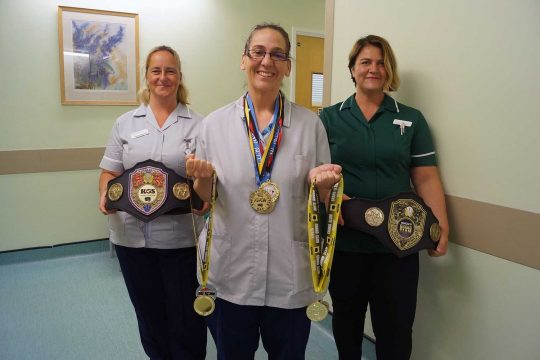 Healthcare Support Worker Katy is going for Gold at this year's World Karate championships…