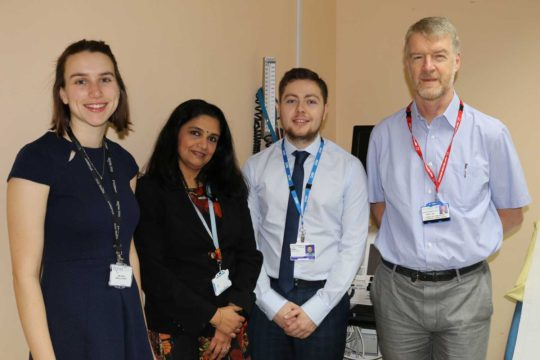 Medical Students' award winning research will benefit pregnant women with heart problems…