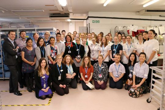 Double finalists for Pharmacy Team