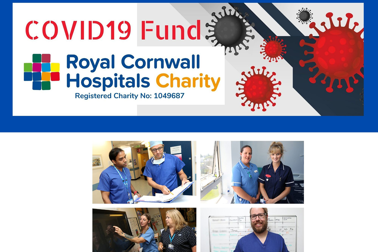 Poster - Covid-19 fund