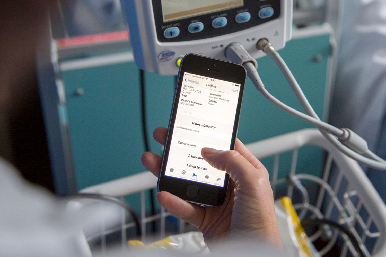 eObs-iPod-and-blood-pressure-monitor - Royal Cornwall Hospitals NHS ...