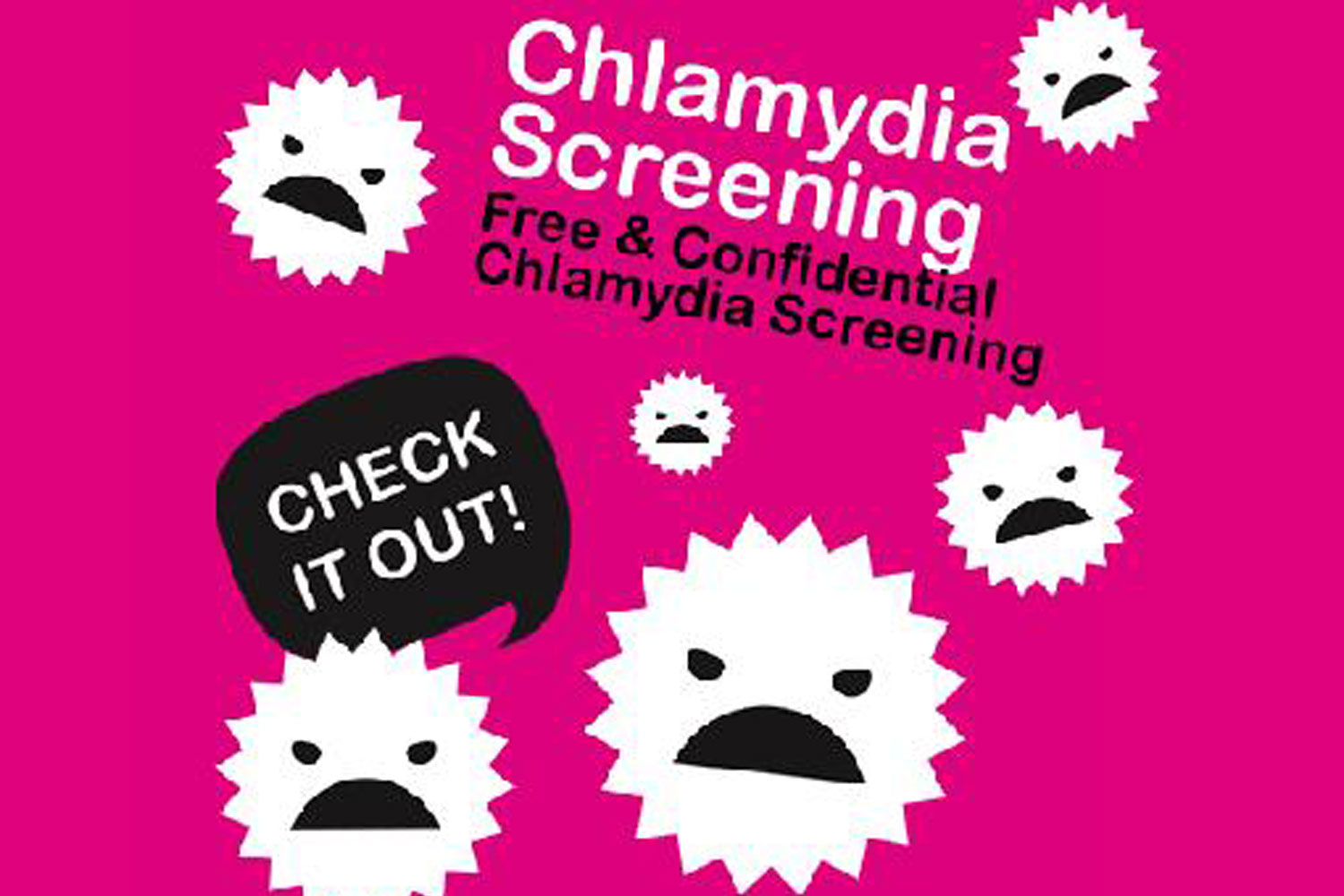 Chlamydia Screening - free & confidential