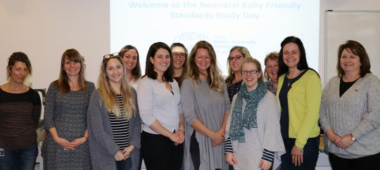 Neonatal unit is among first to achieve first stage of baby friendly accreditation
