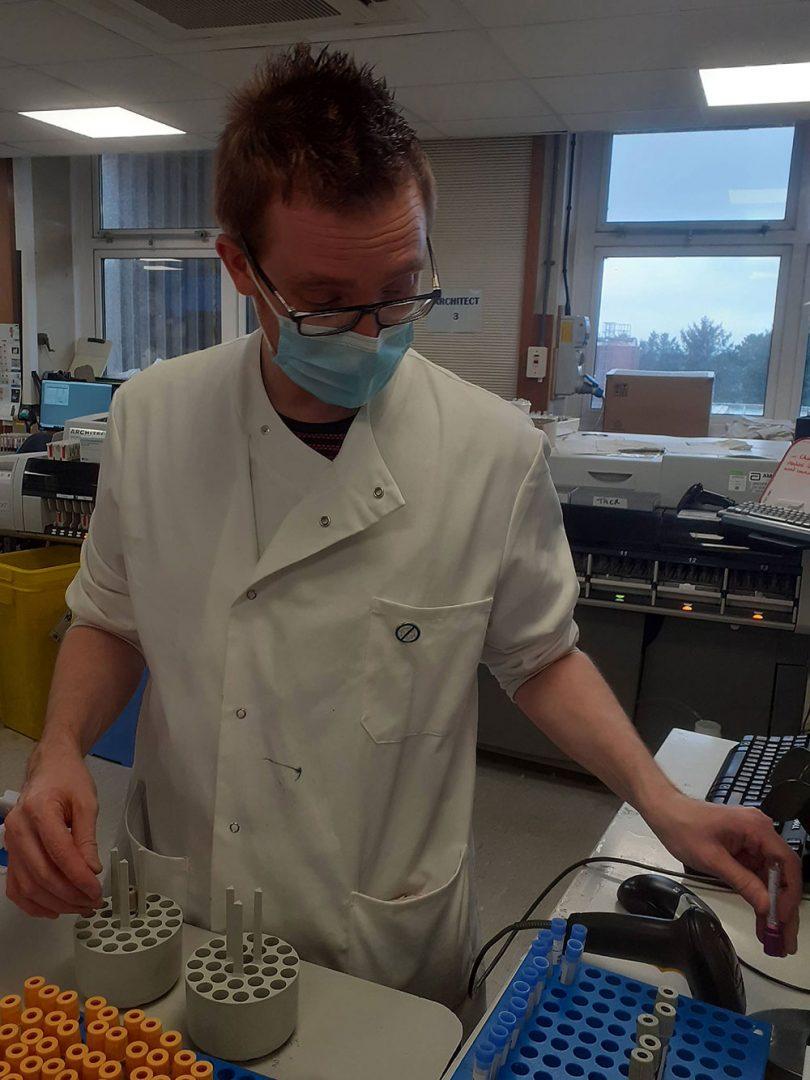 Chemistry blood samples