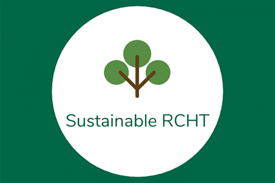 Logo: Sustainable Royal Cornwall Hospitals Trust