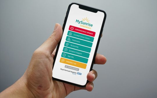 MySunrise app receives South West Digital Health Award