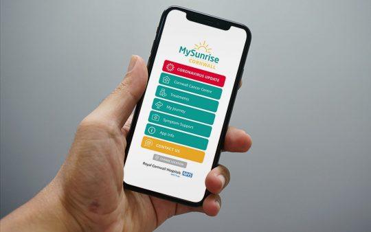 App homepage - MySunrise RCHT