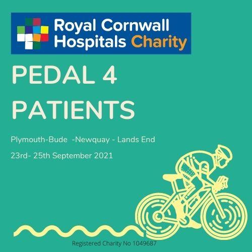 Logo: Pedal 4 Patients