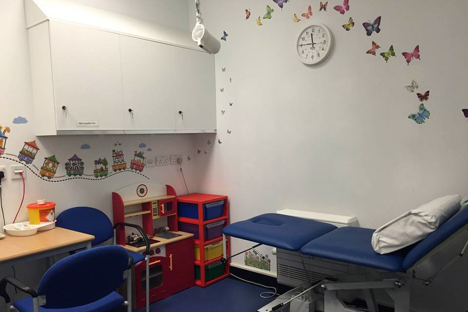 Child-friendly research room