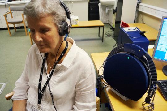 Audiology team's accreditation success