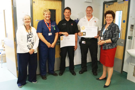 Award winners recognised for their outstanding care…