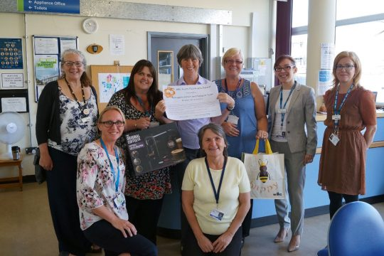 Award winning support from Therapies admin team