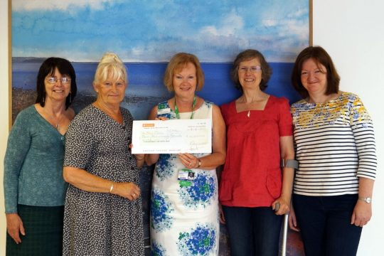 Breast-care Group Donation to The Cove
