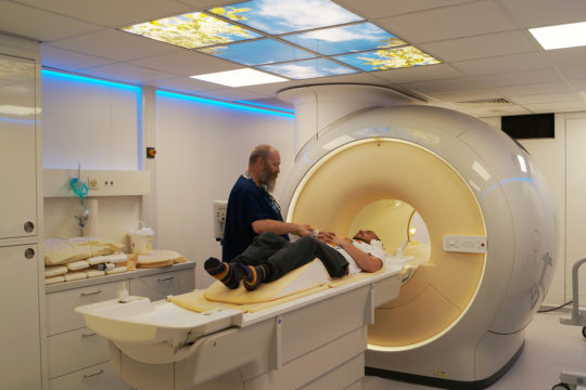 New MRI scanner opens to first patients