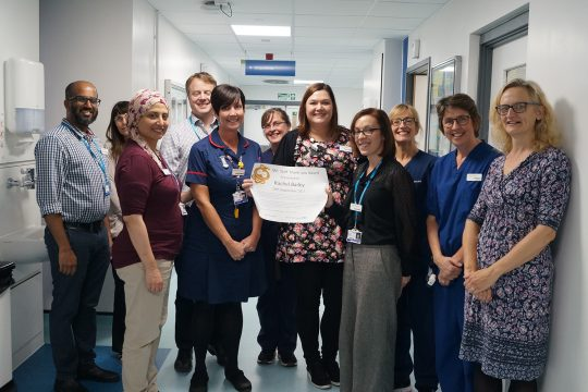 Recognising extraordinary care and support with this month's IWL 'Thank You' award…
