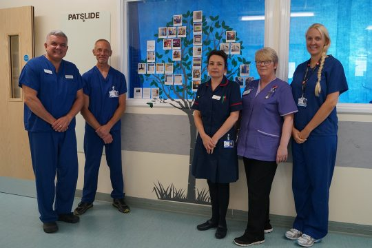 Critical Care leading the way in recognition of outstanding practice