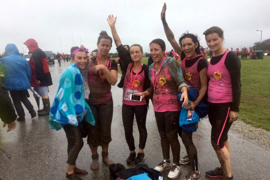 Intrepid teams take on Pretty Muddy challenge