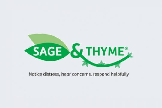Sage & Thyme Workshop for Healthcare Professionals
