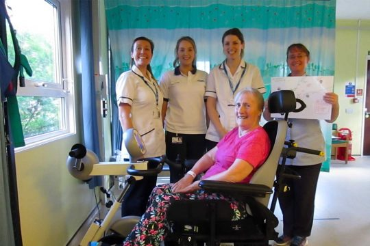 Pedal power sparks healthy rehab challenge