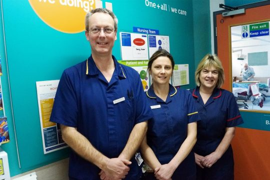 Cardiac team takes the initiative on improving safety and tackling delay