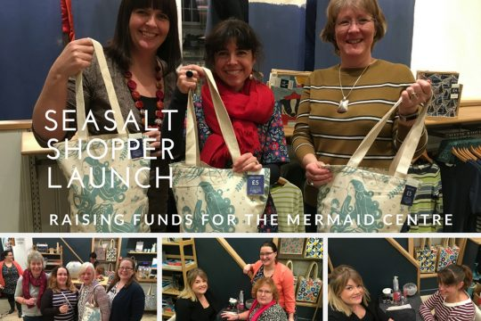 Seasalt bags raising funds for the Mermaid Centre