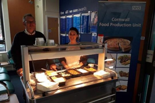 Cornwall Food handed out samples of patient food
