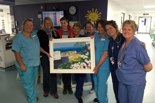 Neonatal Unit at RCH delighted to receive pictures from a local artist