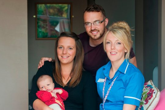 RCHT midwife is a finalist at Who Cares Wins awards