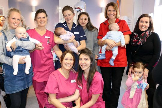 Birthday celebrations in full swing at the Truro Birth Centre