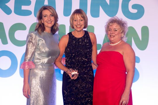Cornwall nurse facilitator honoured at national cancer excellence awards