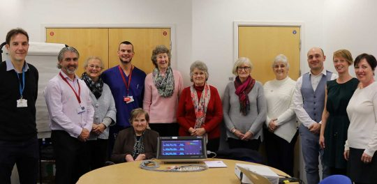'Swell' donation from Heart charity for Cardiac Department