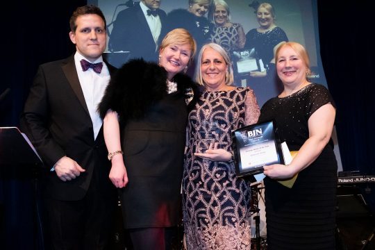 BJN Award glory for RCHT Urology Nurse