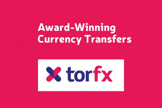 Logo - torfx currency exchange