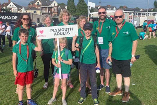 Cornwall Transplantees at this week's transplant games