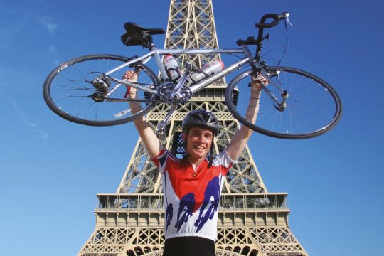 Get your pedals ready for Paris charity challenge!