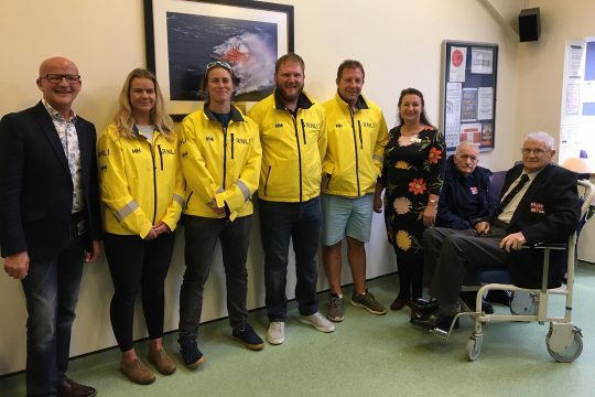 Lifeboat links celebrated in Penlee Unit's new name