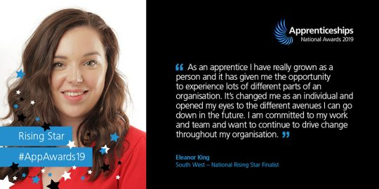 National Apprentices Awards: Vote for Eleanor