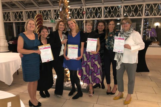 Maternity team shines at International Midwifery Conference Awards