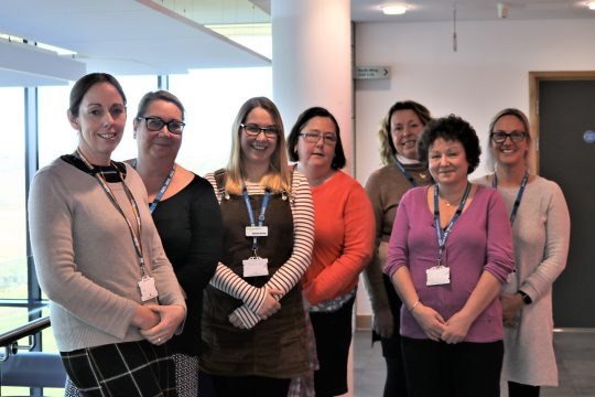 RCHT's Paediatric Diabetes Team share positive story at national audit conference