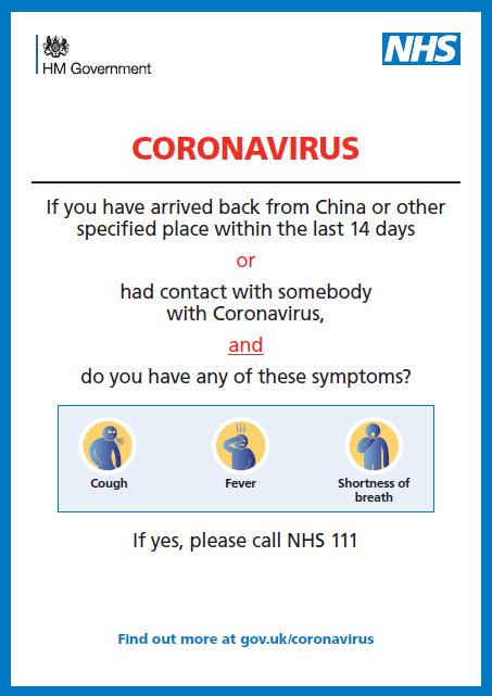 Image result for generic coronavirus poster