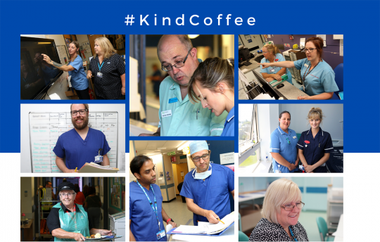 #KindCoffee for NHS staff in Cornwall